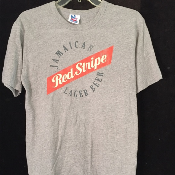 332ee0ae1f Junk Food Clothing Shirts | Jamaican Red Stripe Beer Shirt | Poshmark